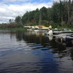 Our marina is ideally suited for boats and personal floatplanes