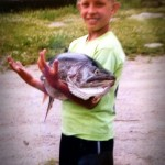 Nicholas is another successful Fischer fisherman!