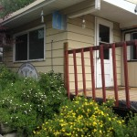Our shower & laundry house for your convenience