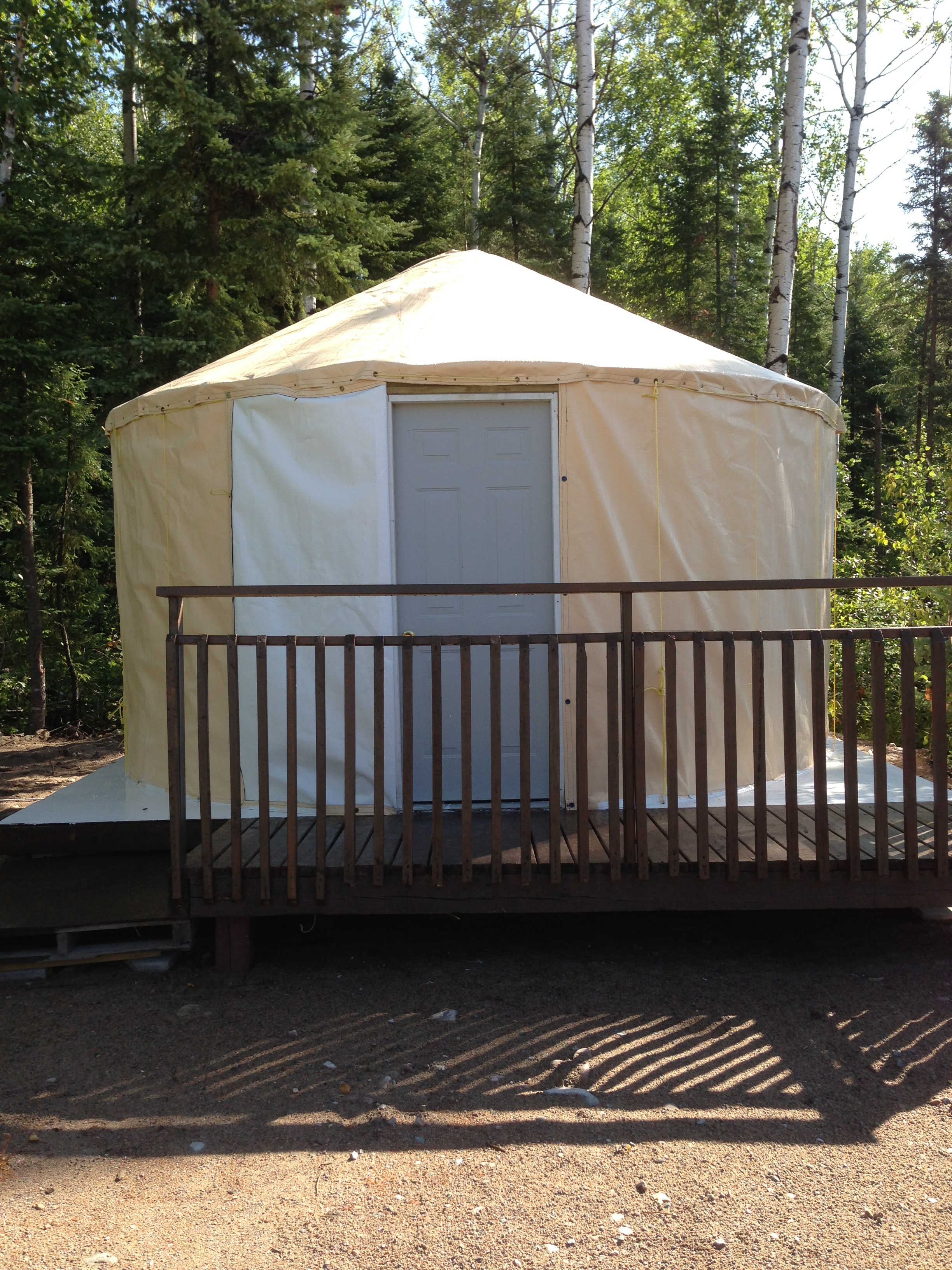 vertical yurt | The Website of Chukuni Campground & Greenhouses